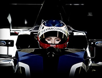Future female IndyCar star takes on Silicon Valley