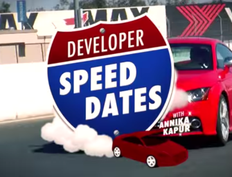 TECHDRIVE CO-FOUNDER DRIVES FOR DEVELOPER SPEED DATES