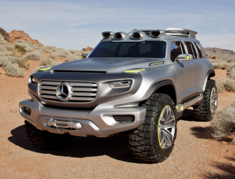 What Do You Get If You Cross A Hummer With Mercedes?