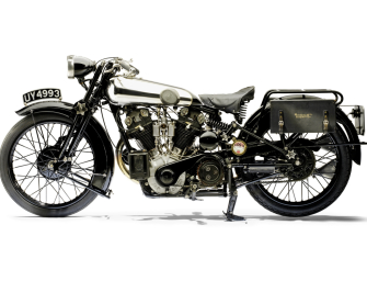 Brough Superior Motorcycle To Go Under The Hammer