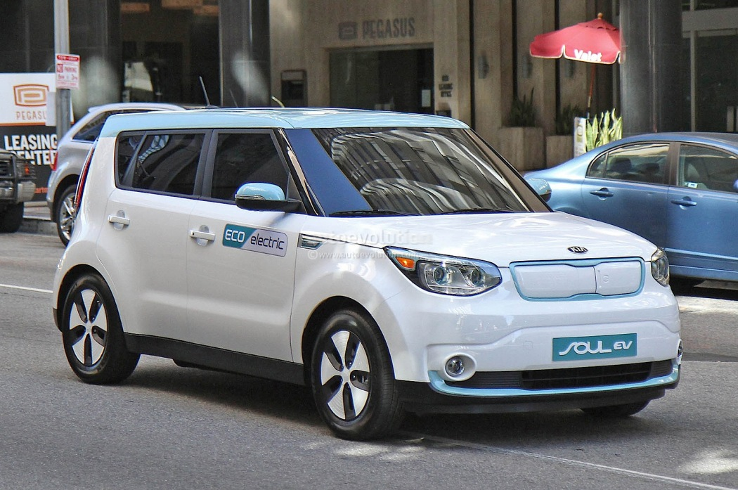 The First Kia Electric Car Hits The States Techdrive