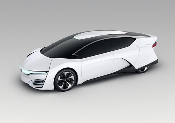 Hondas Hydrogen Car Is Much More Futuristic Than Toyotas Mirai - All honda model cars