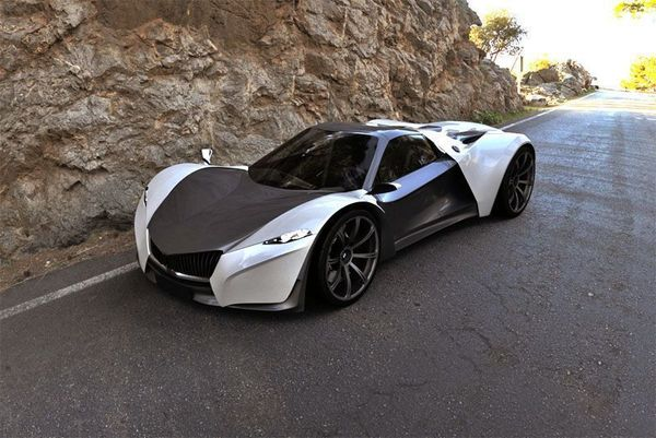 Snapshot Of Canada S First Electric Super Car Techdrive