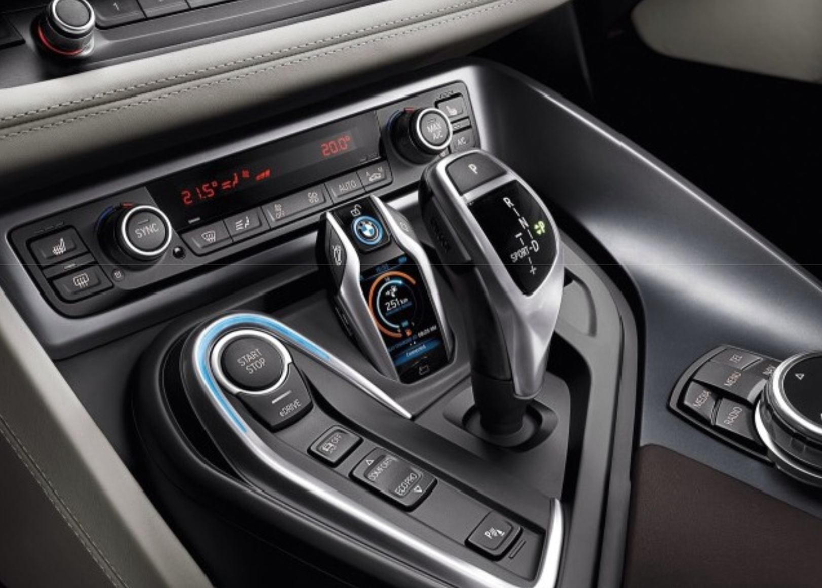 Ces 2015 Bmw Upgraded The I8 S Key Fob With A Touchscreen Techdrive
