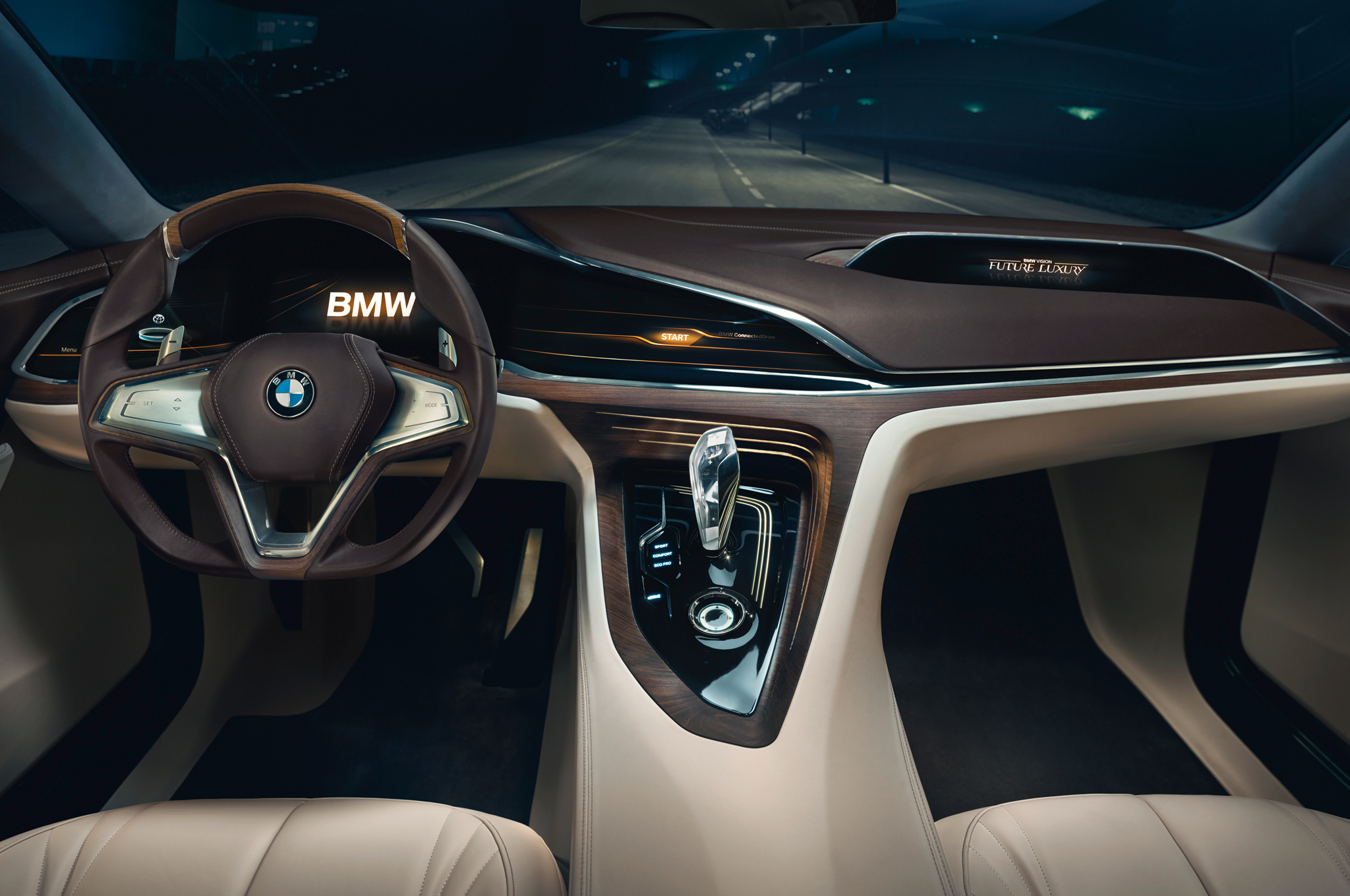 Bmw Concept Car Interior Bmw Vision Future Luxury Concept Interior