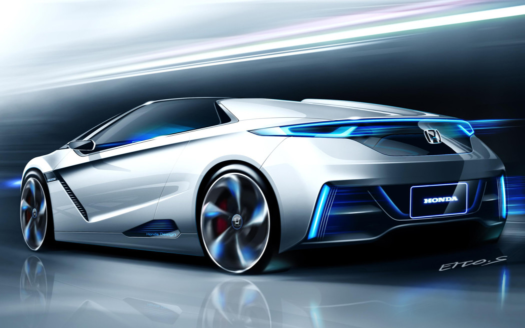 Honda Said It Will Introduce Electric Cars By TechDrive - Small sports cars 2015