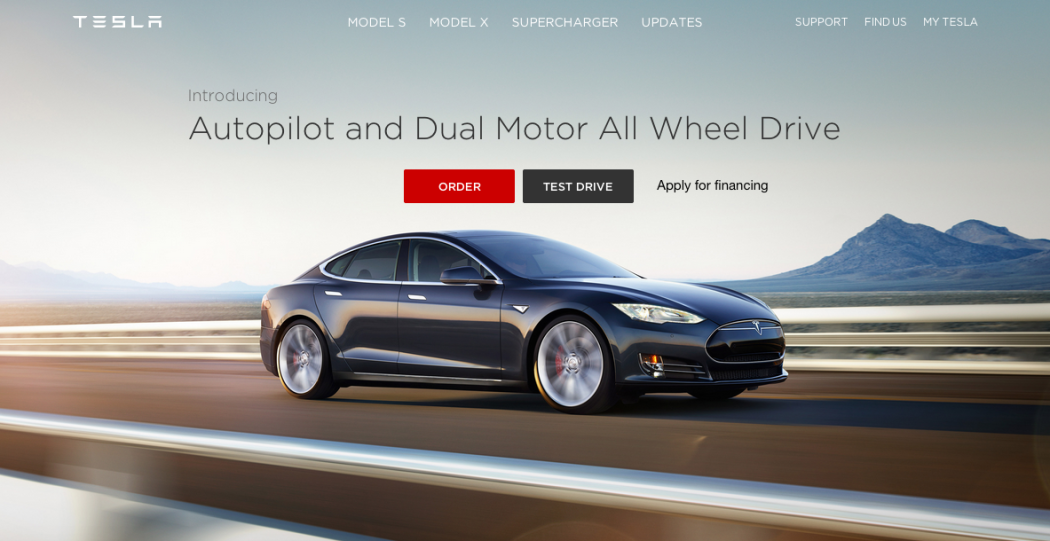 Tesla Lets You Test Drive New Model S With Autopilot DualMotor - All models of tesla