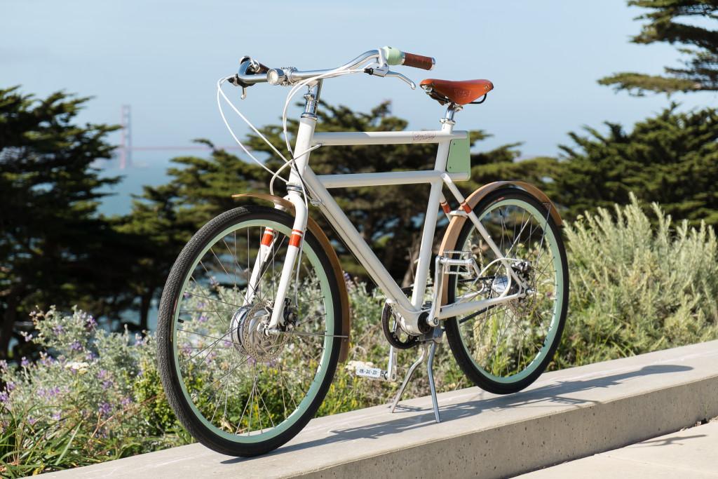 Bike with bridge