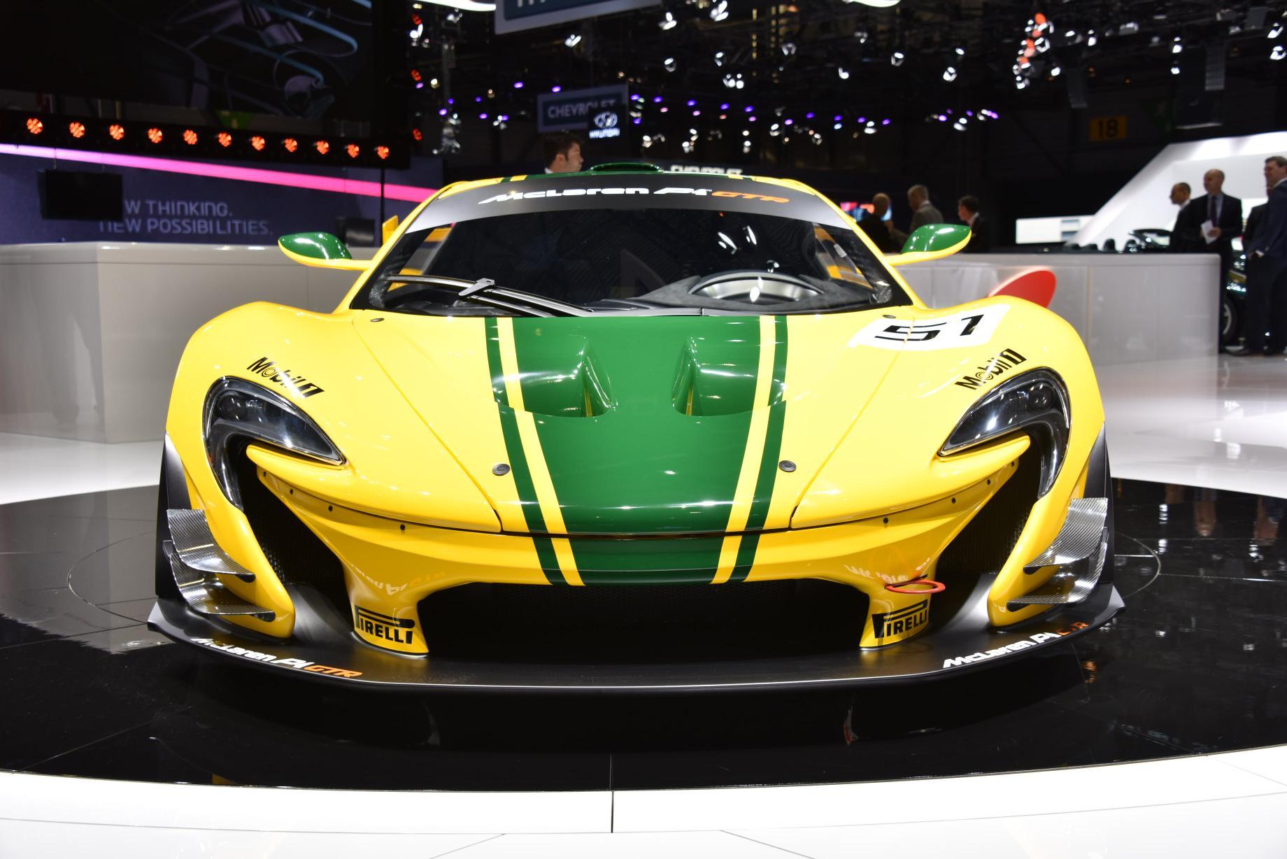 Mclaren P1 Gtr Race Car Debuts At The