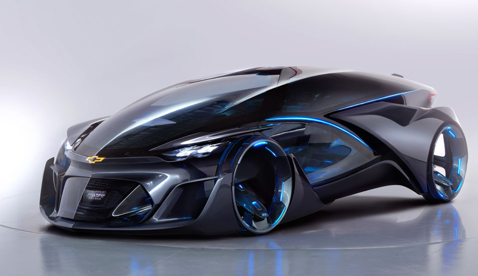 This Chevy Self-Driving Concept Car Will Blow Your Mind - TechDrive