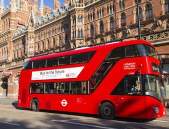 London Gets All-Electric Double-Decker Buses