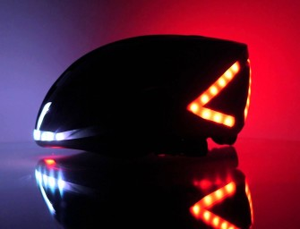 Lumos: The Ultimate Bicycle Helmet With Brake Lights And Turn Signals