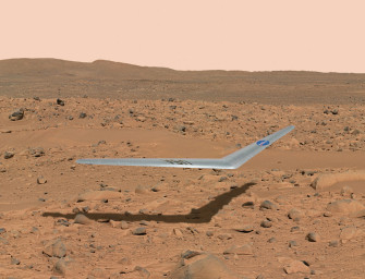 This Aircraft Could Fly On Mars