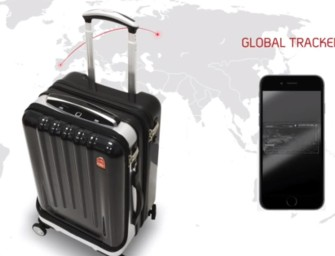 This Smart Suitcase Has One Feature That Other Ones Don't Have: Fingerprint Lock
