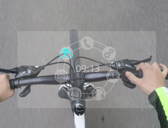 SENTH IN1-The Google Glass For Cyclists