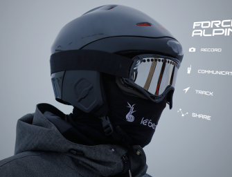 World's First Smart Helmet For Snow Sports Carves It Up On Kickstarter