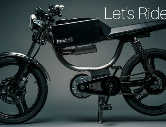 Bolt Motorbikes Startup Raises Over $200,000 on Indiegogo