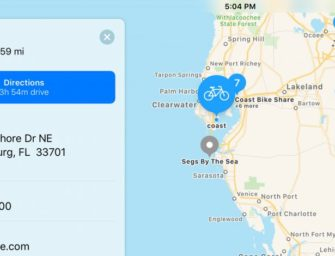Need to Find the Nearest Bike-Sharing Station? Apple Maps Will Show You the Way