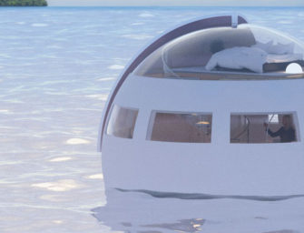 Floating Hotel Pods are coming to Japan