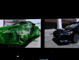 Nvidia Demonstrates VR Driving at GTC 2018