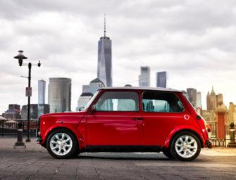Mini Unveils Retro Cooper With Electric Power