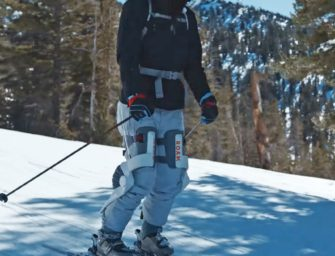 Roam's Robotic Exoskeleton For Skiers Takes The Stress Off Your Knees