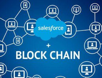 Salesforce To Join The Blockchain Revolution