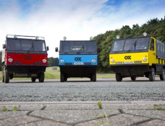 The Ox: World's First Flat-Pack Truck Is Headed To Pre-Production Trials