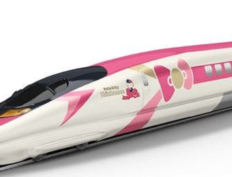 Kawaii to the Max: Hello Kitty Bullet Train Is Coming to Japan This June